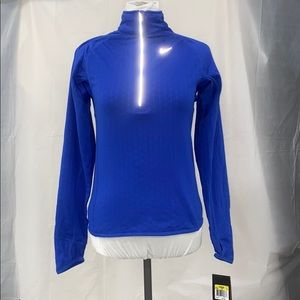 Nike Dri Fit running long sleeve top size S